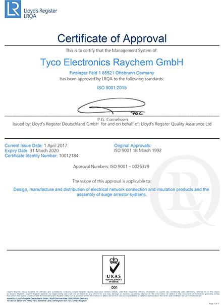 ISO 9001 Ottoburn